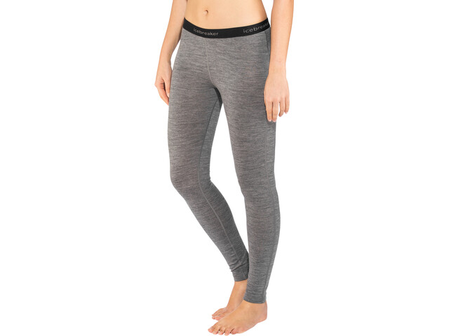 Icebreaker 200 Oasis Leggings Dames, gritstone heather